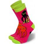 Детские носки для роликов K2 skate junior socks pink 2014 2 пары