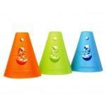 Конусы для слалома Powerslide freeskating cones 10-pack