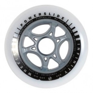 Колеса для роликов Powerslide infinity 100mm 85A 4-pack 2014
