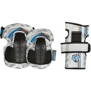 Защита детская на ролики Powerslide hotwheels protection f-racer tri-pack 2014