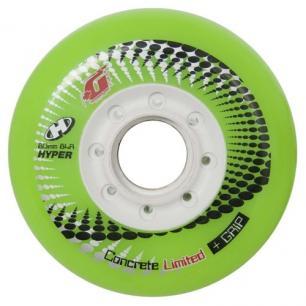 Колеса для роликов Hyper Concrete + Grip Green 76 mm (4 шт)