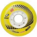 Колеса для роликов Hyper Concrete + Grip Yellow 72/76/80 mm (4 шт)