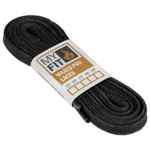 Шнурки для роликов Powerslide MyFit Waxed Laces Pro Black