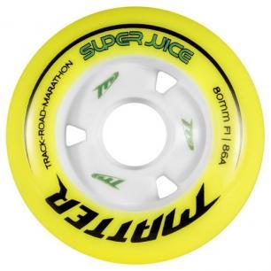 Скоростные колеса для роликов Matter Super Juice 84mm 86A (8шт)