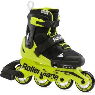 Детские ролики Rollerblade Microblade Neon Yellow 2021