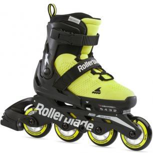 Ролики Rollerblade Microblade SE Black/Lime