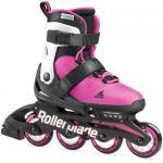 Ролики для девочки Rollerblade Microblade G pink/white