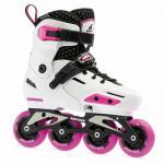 Детские фрискейт ролики Rollerblade Apex G White Pink