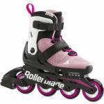 Ролики для девочки Rollerblade Microblade G Rosa Blanco 2021