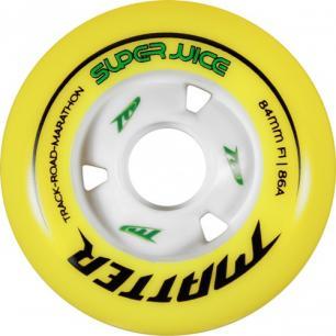 Скоростные колеса для роликов Matter Super Juice 84mm 86A (6шт)