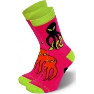 Детские носки для роликов K2 skate junior socks pink 2 пары