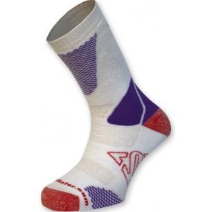 Носки для роликов K2 fitness skate socks white-lilac