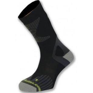 Носки для роликовых коньков K2 X-training skate socks black-lime