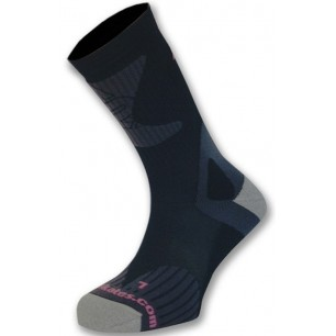 Носки для роликов K2 X-training skate socks black-pink