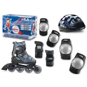 Комплект ролики детские Fila X-One COMBO 3 SET (2013)