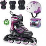 Комплект детские ролики Rollerblade spitfire cube g 2018 защита и шлем