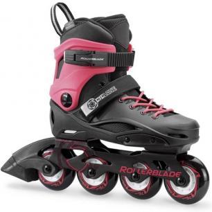 Фрискейт ролики для девочки Rollerblade Cyclone G pink