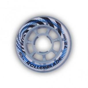Колеса для детских роликов Rollerblade junior wheels 72 mm 80A 8-pack