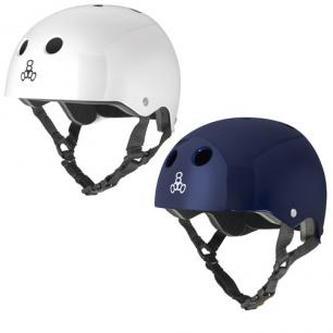 Шлем для роликов Triple Eight Brainsaver Glossy Helmet With Standard Liner