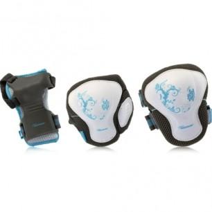 Защита женская комплект Powerslide Pro Air pure tri-pack